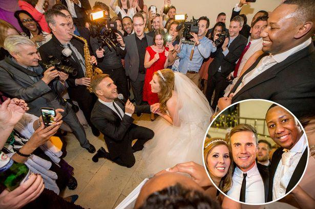 Gary Barlow sing at your wedding